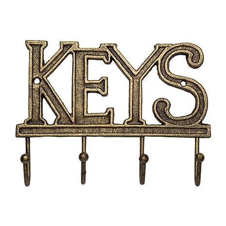 """Amazon.com: Titular de la clave """"Keys – Montado en la ..."""