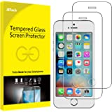 iPhone SE Screen Protector, JETech 2-Pack iPhone SE 5S 5C 5 Premium Tempered Glass Screen Protector - 0314