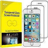 JETech Protector de Pantalla para iPhone SE, iPhone 5s y iPhone 5, Vidrio Templado, 2 Unidades