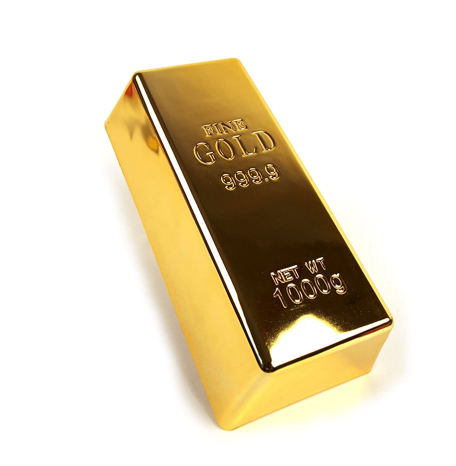 1kg 35oz Fake Gold Bar Bullion Door Stop Paperweight By Cas Amazon In Home Improvement