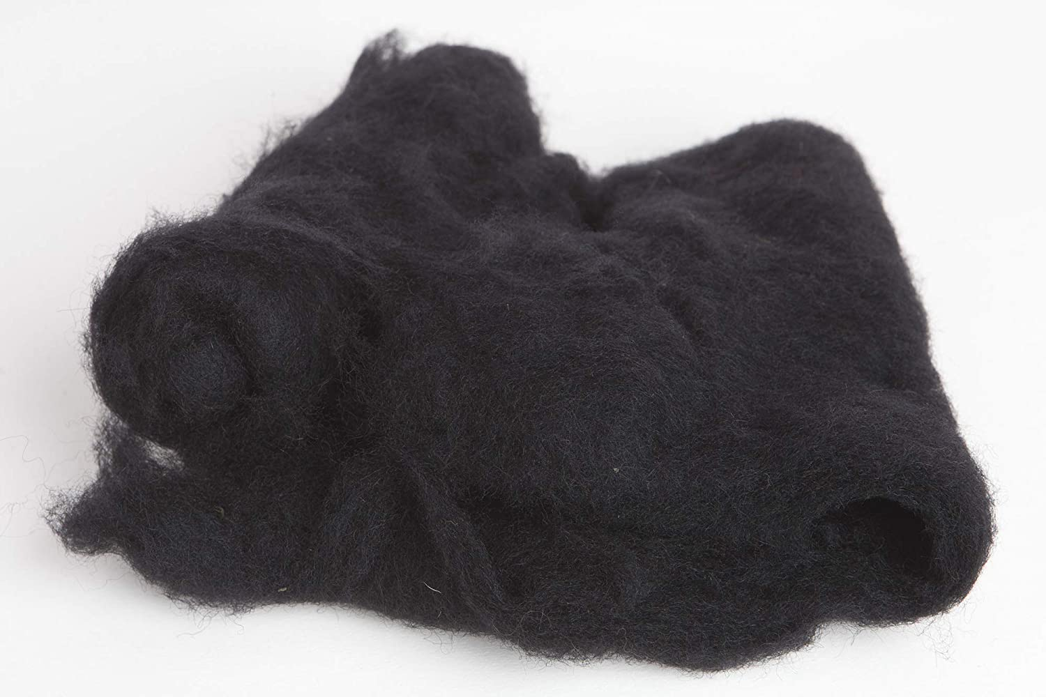 Carded Wool Batts Maori Wool by DHG for Needle Felting 3 Colors Ebony 1 Ounce Each 100/% Pure Wool Collection One Snow Leaf