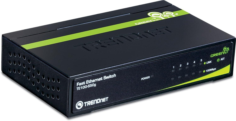2 x Shared SFP Slots TEG-424WS Rack Mountable 4 x Gigabit Uplink Ports Fanless TRENDnet 24-Port 10//100 Mbps Web Smart Switch Lifetime Protection