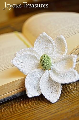 Amazon Handmade Bookmark Crochet Bookmark Flower Bookmark