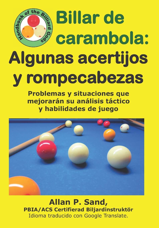 Billar de carambola - Algunas acertijos y rompecabezas: Problemas ...