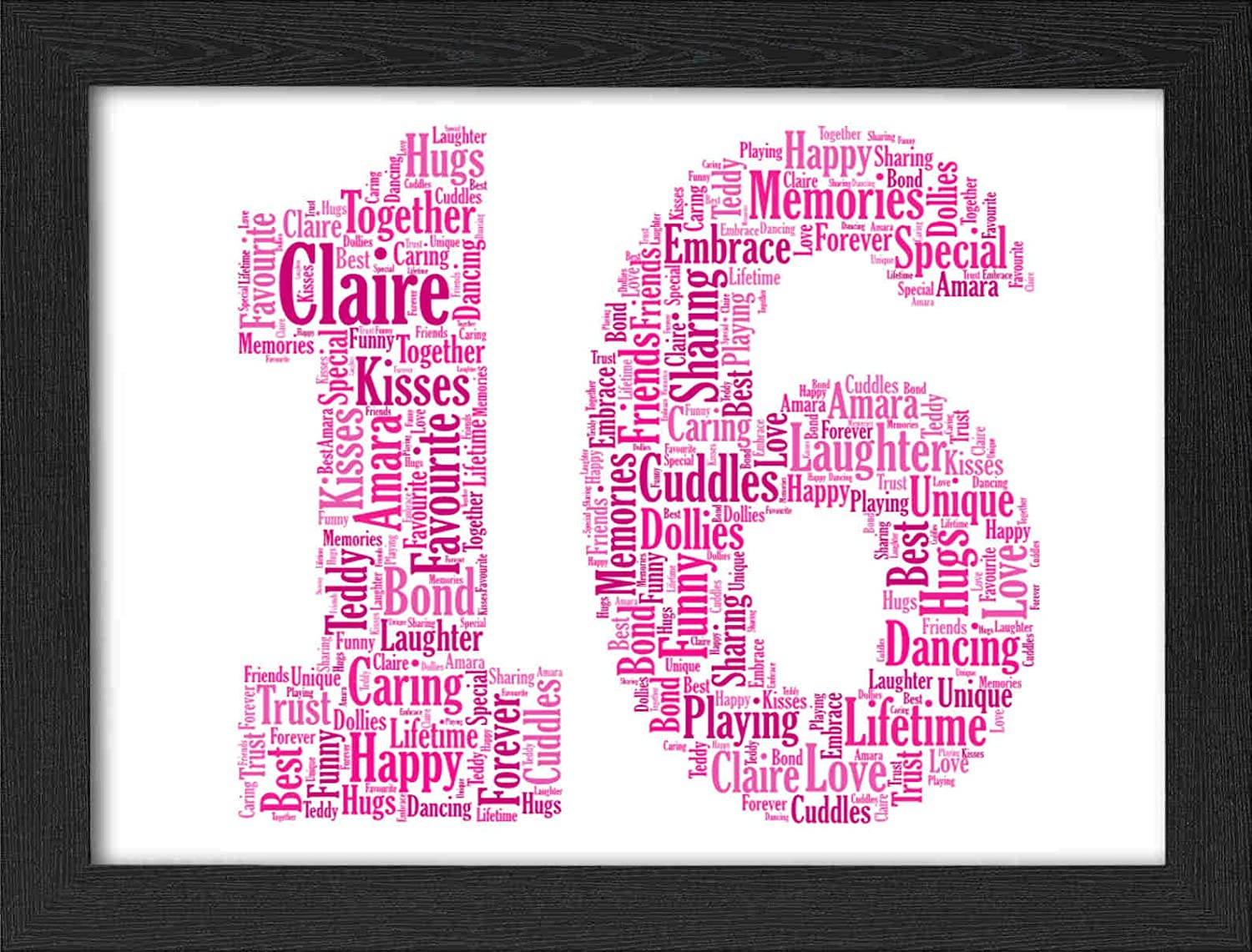 Date etc can be fully personalised pink Baby Vest First Birthday Name