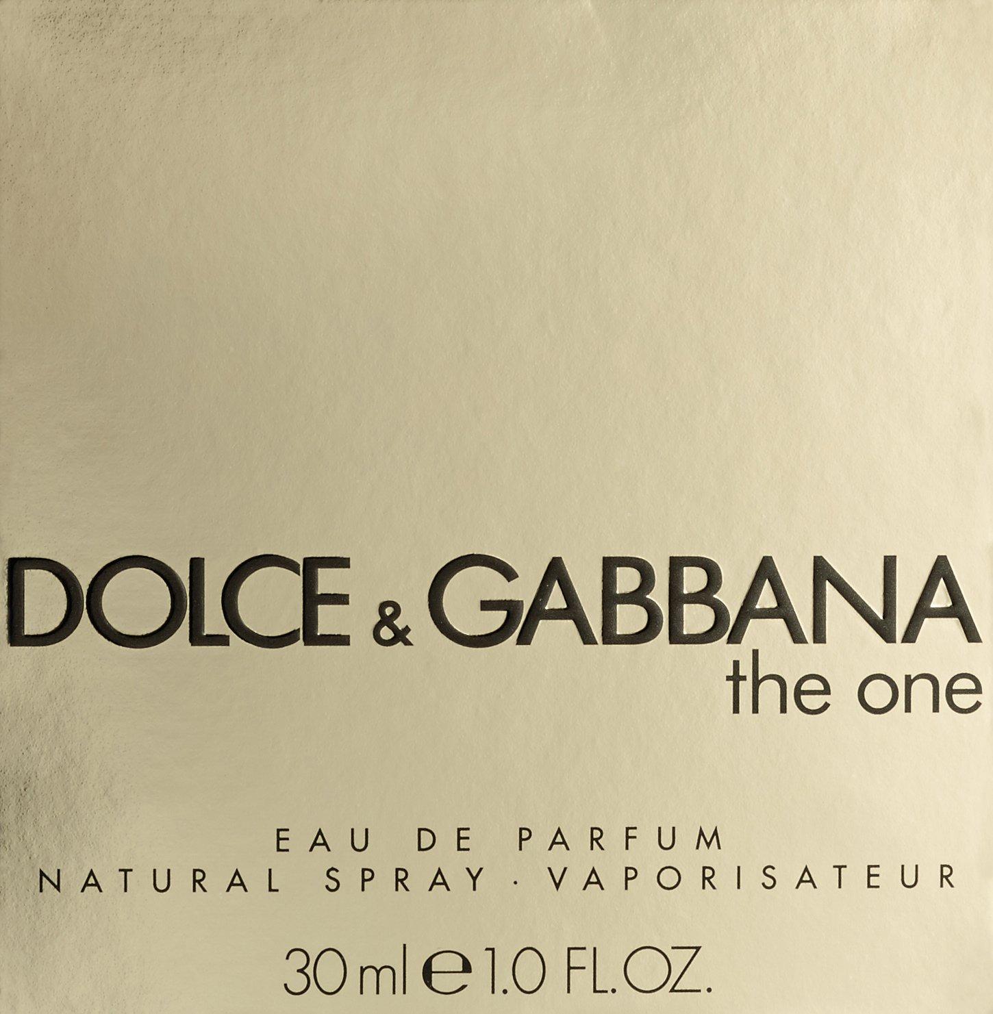 Dolce Gabbana The One For Women. Eau De Parfum Spray 1-Ounce