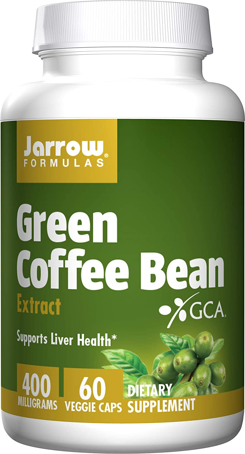 Amazon Com Jarrow Formulas Green Coffee Bean Extract Supports