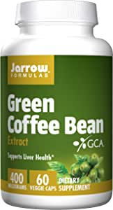 Amazon Com Jarrow Formulas Green Coffee Bean Extract Supports Cardiovascular Health 400 Mg 60 Capsules Health