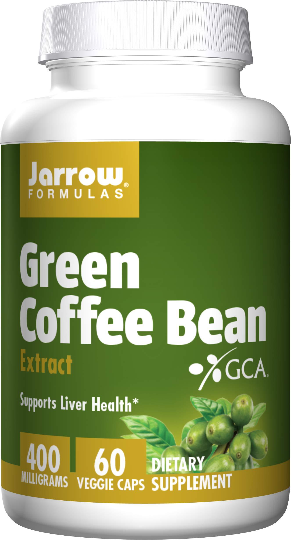 Jarrow Formulas Green Coffee Bean Extract, Supports Cardiovascular Health, 400 mg, 60 Capsules
