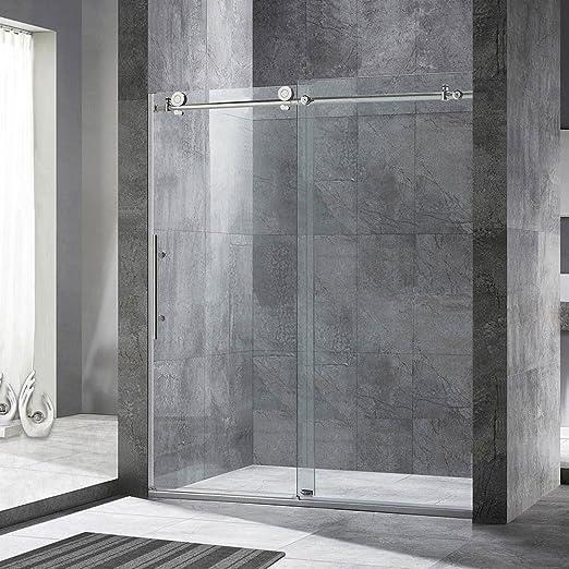 Woodbridge Frameless Sliding Shower Door 44 48 Width 76