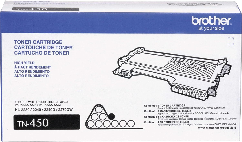 Brother Genuine 1 year warranty Finally popular brand High Yield Toner Replacement B TN450 Cartridge