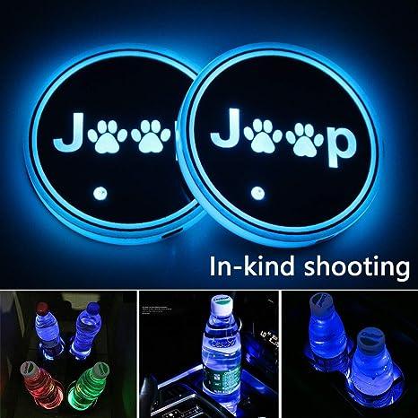Amazon.com: 2 luces LED de coche con logo para Toyota, 7 ...