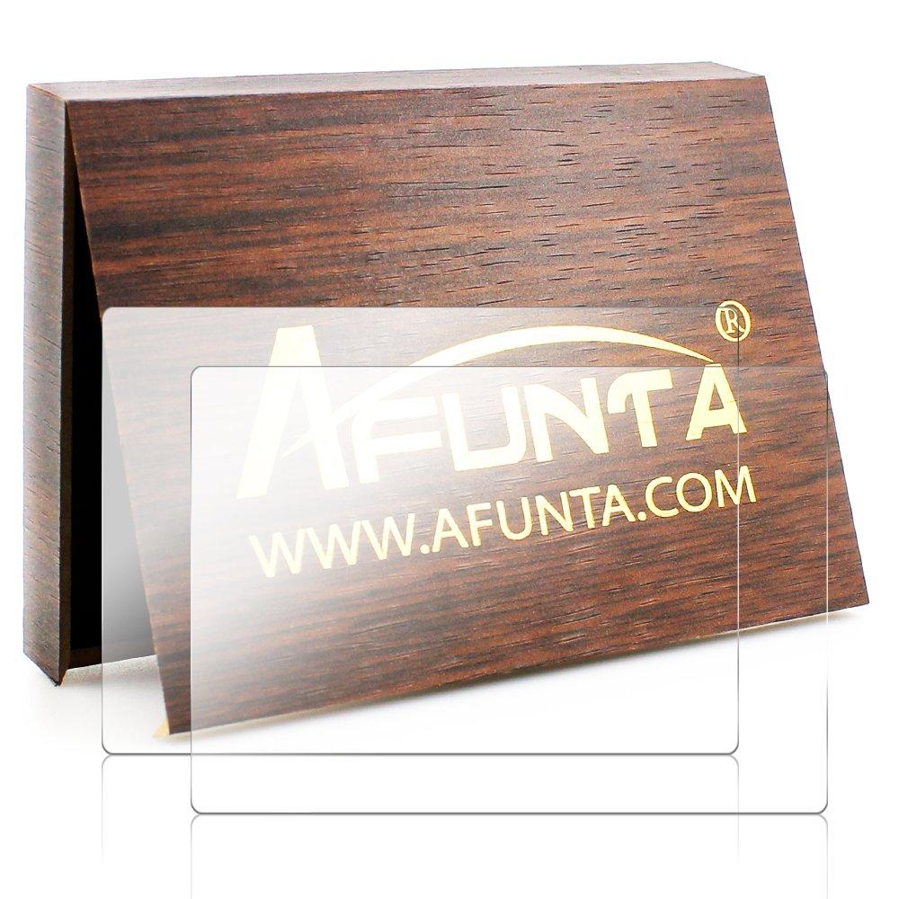 Screen Protector Compatible Fujifilm X-T1 X-T2, AFUNTA 2 Pack Camera Anti-Scratch Tempered Glass Film for DSLR Camera