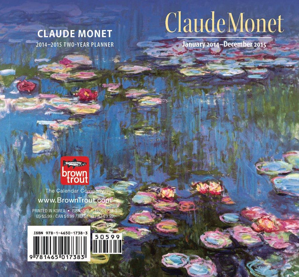 Monet, Claude 2014 Two Year Pocket Planner pdf epub