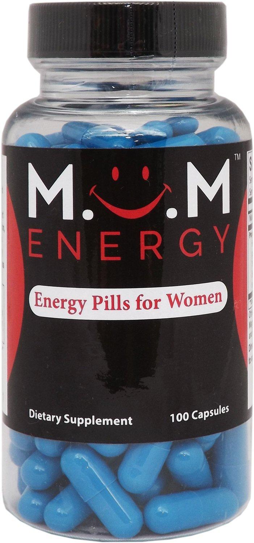 MOM ENERGY - Energy Pills for Women 100 Capsules by MOM Energy