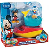 Fisher-Price Disney's Mickey And Donald's Stacking Bath Boats