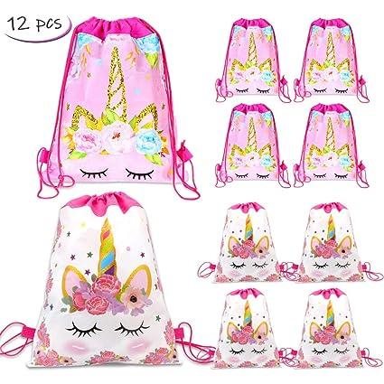 Amazon.com: Paquete de 12 bolsas de fiesta con cordón de ...