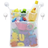 Ruisen Kids Bath Toy Storage Bag Bathtub Bathroom Toy Hanging Mesh Net Holder