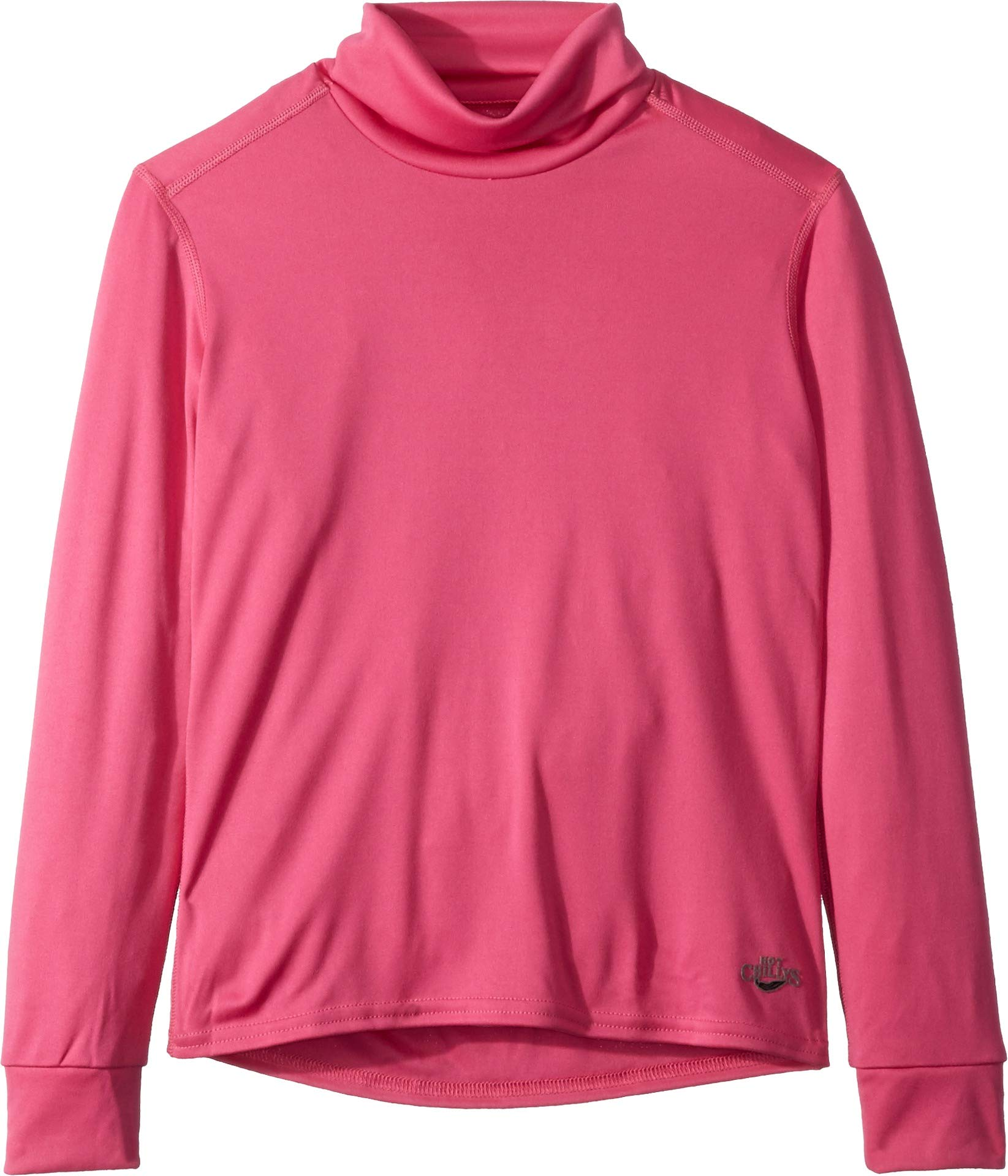 Hot Chillys Kids Girl's Peach T-Neck (Little Kids/Big Kids) Cosmo X-Large by Hot Chillys