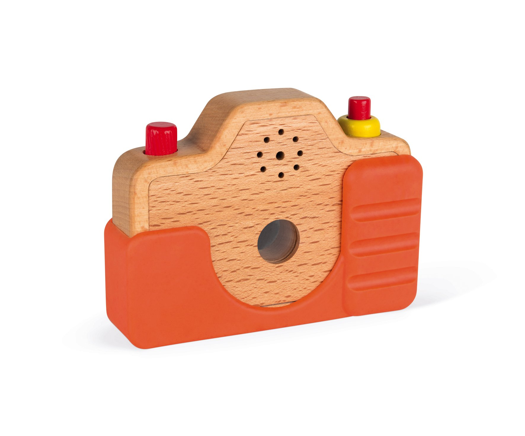 Janod Wooden Interactive Sound Camera Toy by Janod (Image #7)