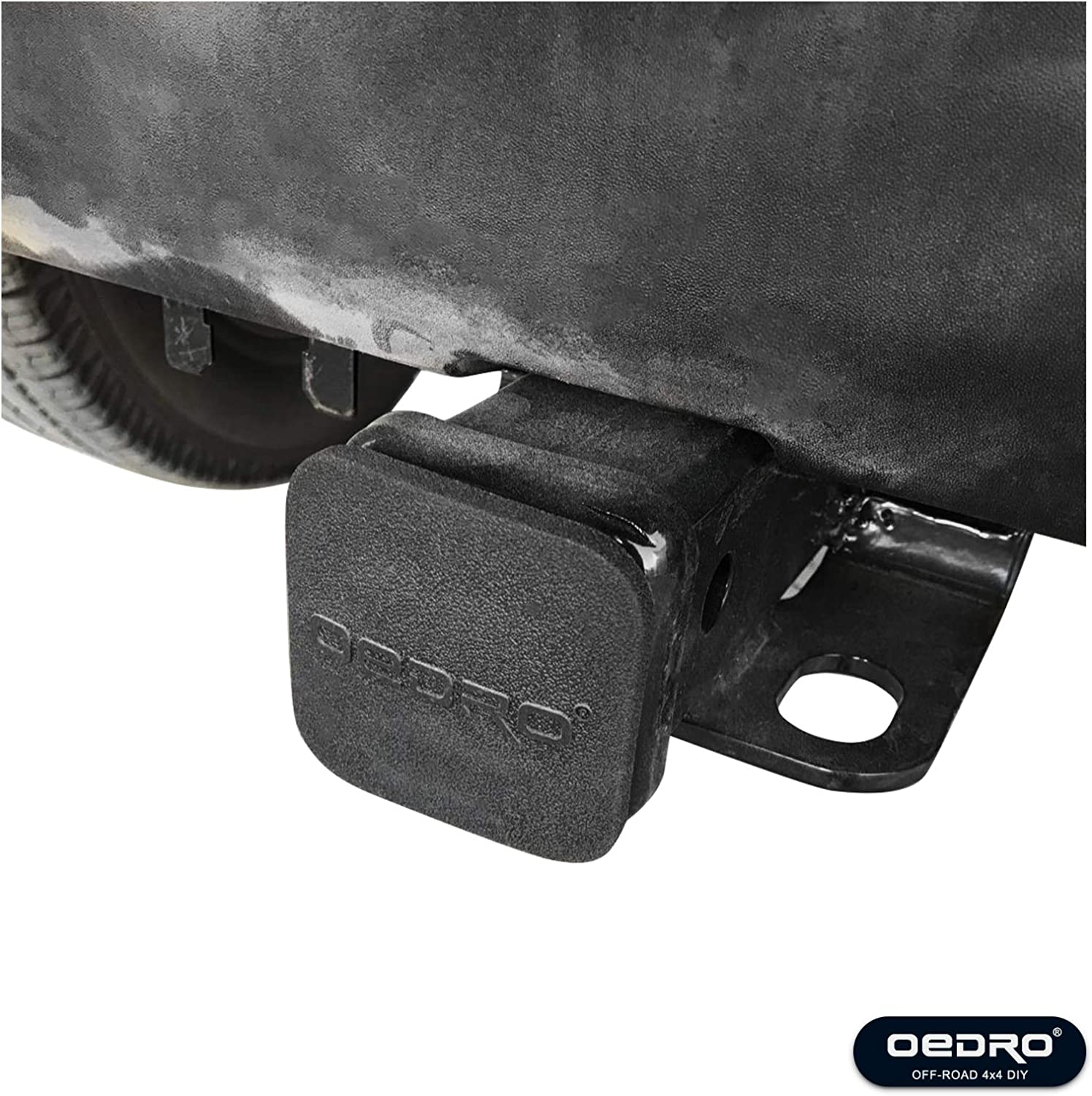 Hitch Cover included OEDRO 2 inch Rear Receiver Hitch Class 3 Hitch /& Cover Kit Towing Combo Compatible for 2007-2018 Jeep Wrangler JK 2 Door /& 4 Door Unlimited Upgraded Tow Trailer Hitch