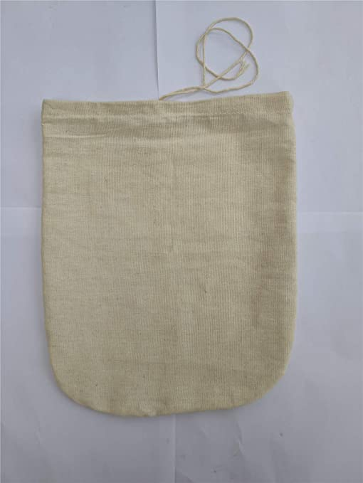 Reusable Nut Almond Milk Strainer Bag Tea Coffee juices Filter Strainer Bag  BB