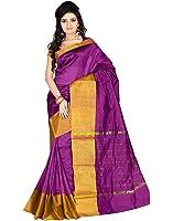Roopkala Silks & Sarees Women's Poly Cotton With Blouse Piece (Sh-1314_Magenta)