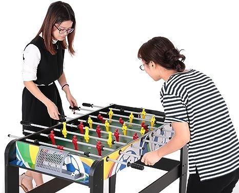 Lixada - Futbolín de tamaño de competición (122 cm). Juego de fútbol de mesa para niños.: Amazon.es: Deportes y aire libre