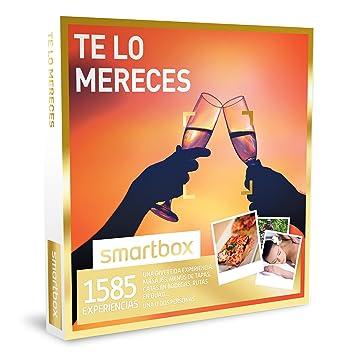 SMARTBOX - Caja Regalo - TE LO MERECES - 1585 divertidas experiencias: masajes, menús de tapas, catas, rutas en quad...: Amazon.es: Deportes y aire libre