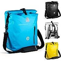 MNT10 4-in-1 fietstas, bagagedrager, 18 liter, 25 liter, bagagedragertas, rugzak, Dry Bag en schoudertas in 1…