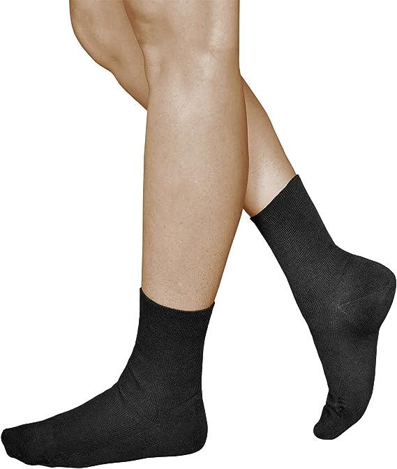 vitsocks Calcetines Sin Elástico 98% Algodón Mujer (3 PARES) Sin ...