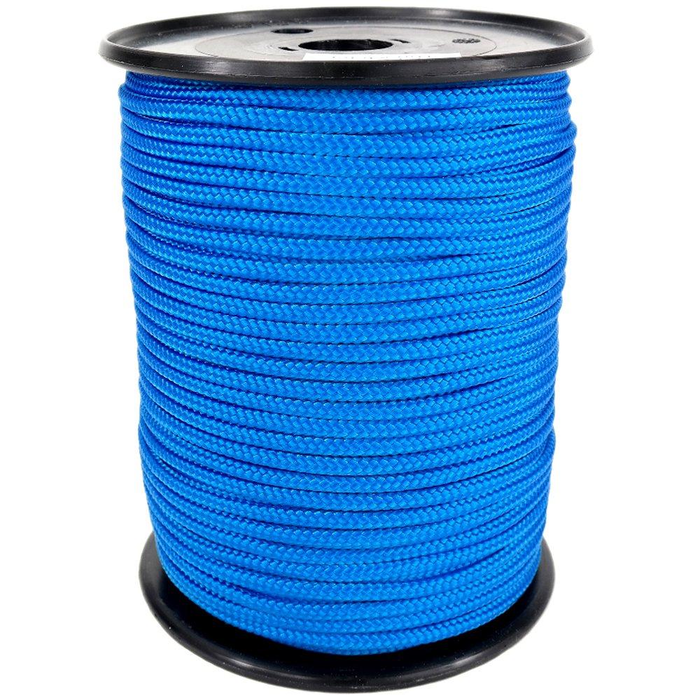 PP Seil Polypropylenseil SH 12mm 250m Farbe Blau (0912) Geflochten