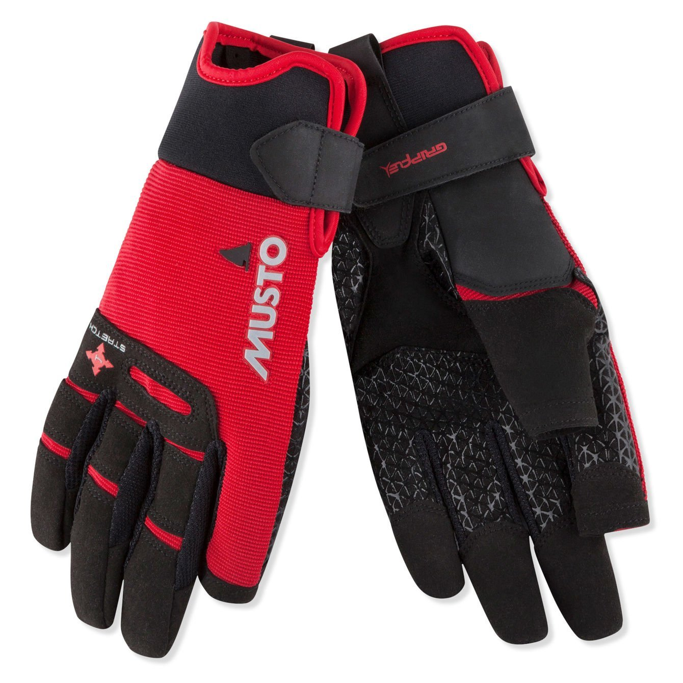 Musto Performance Long Finger Sailing Gloves - 2019 - Black XS by Musto