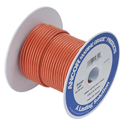amazon com ancor 180503 marine grade electrical primary tinned rh amazon com 12 volt marine wiring supplies 12 volt marine wiring supplies
