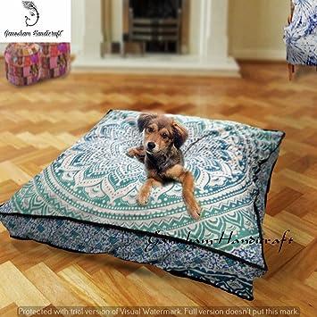 Indio Mandala tapiz decoración del hogar cama cama para perro, gato, Boho Decor,