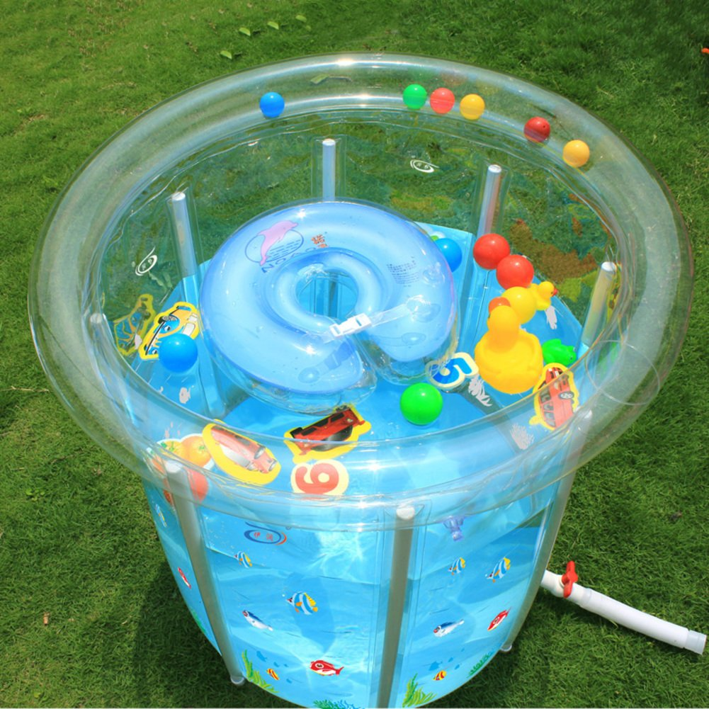 Transparent lackiert Baby Schwimmbad/Baby Schwimmbad/Play Pool-A