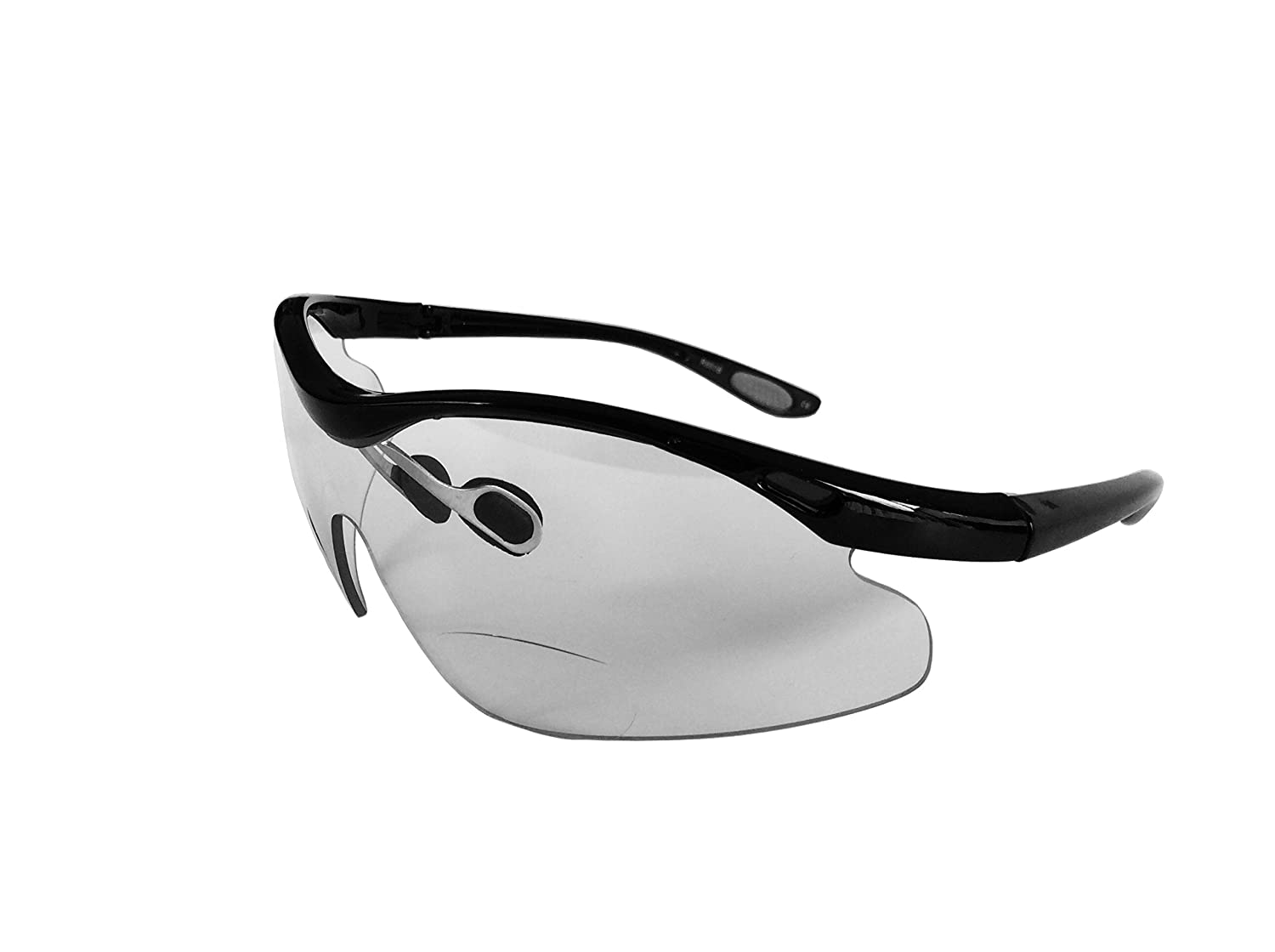 f8468f0a3f98 Racer BLACK  - CYCLING SPORTS BIFOCAL GLASSES. Power +2.00  Amazon.co.uk   Sports   Outdoors
