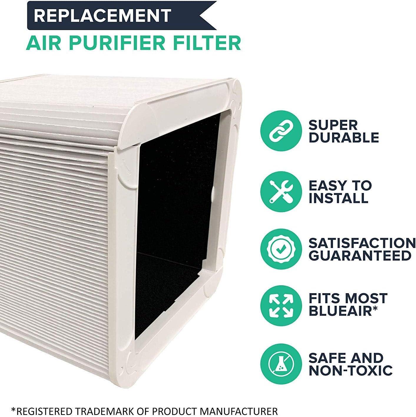 Filtro de Aire Crucial de Repuesto Compatible con purificador de ...