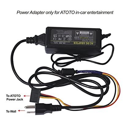atoto ac 10v1 power adapter, transformers, power supply for atoto car stereo power supply at Car Stereo Power Supply