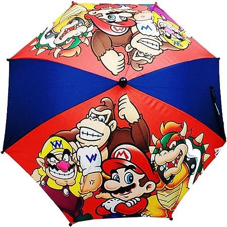 Amazon.com: Mario Kart paraguas – Super Mario – Paraguas ...