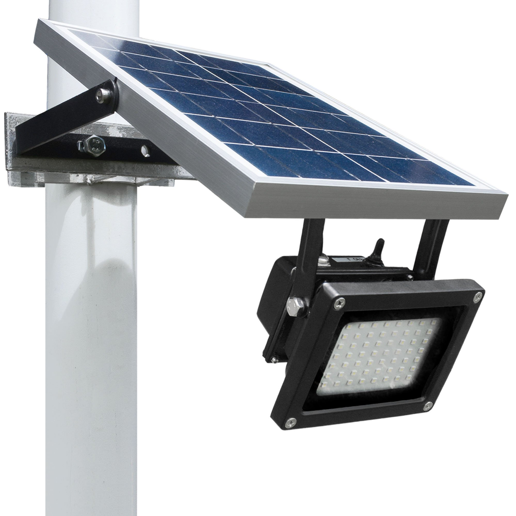 Solar Outdoor Flood Light By Wonderlux. Included Mounting