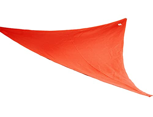 Coolaroo Shade Sail, Triangle Party Sail , 9 10 , Red