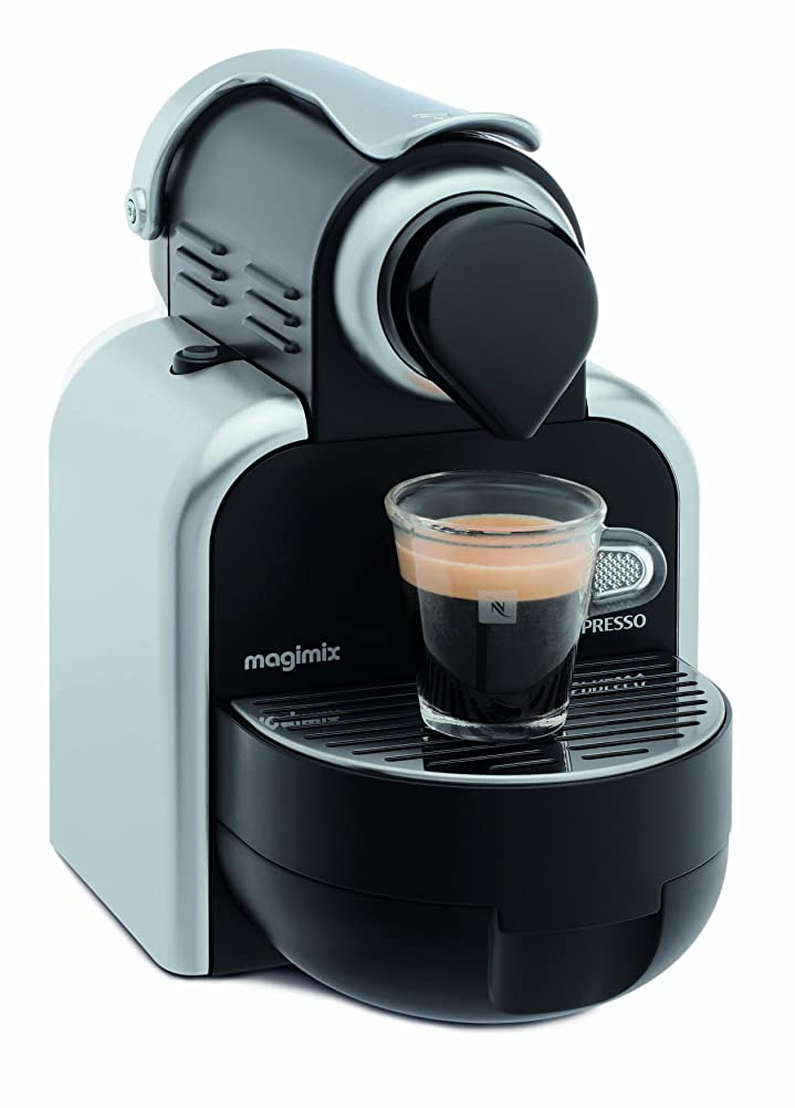 Nespresso Essenza by Magimix M100A, Smooth Silver: Amazon.co.uk ...