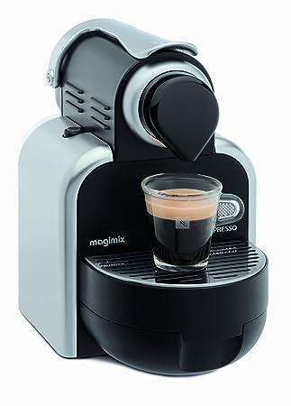 Magimix M100 Máquina de café en cápsulas 1L Negro, Plata - Cafetera (Máquina de