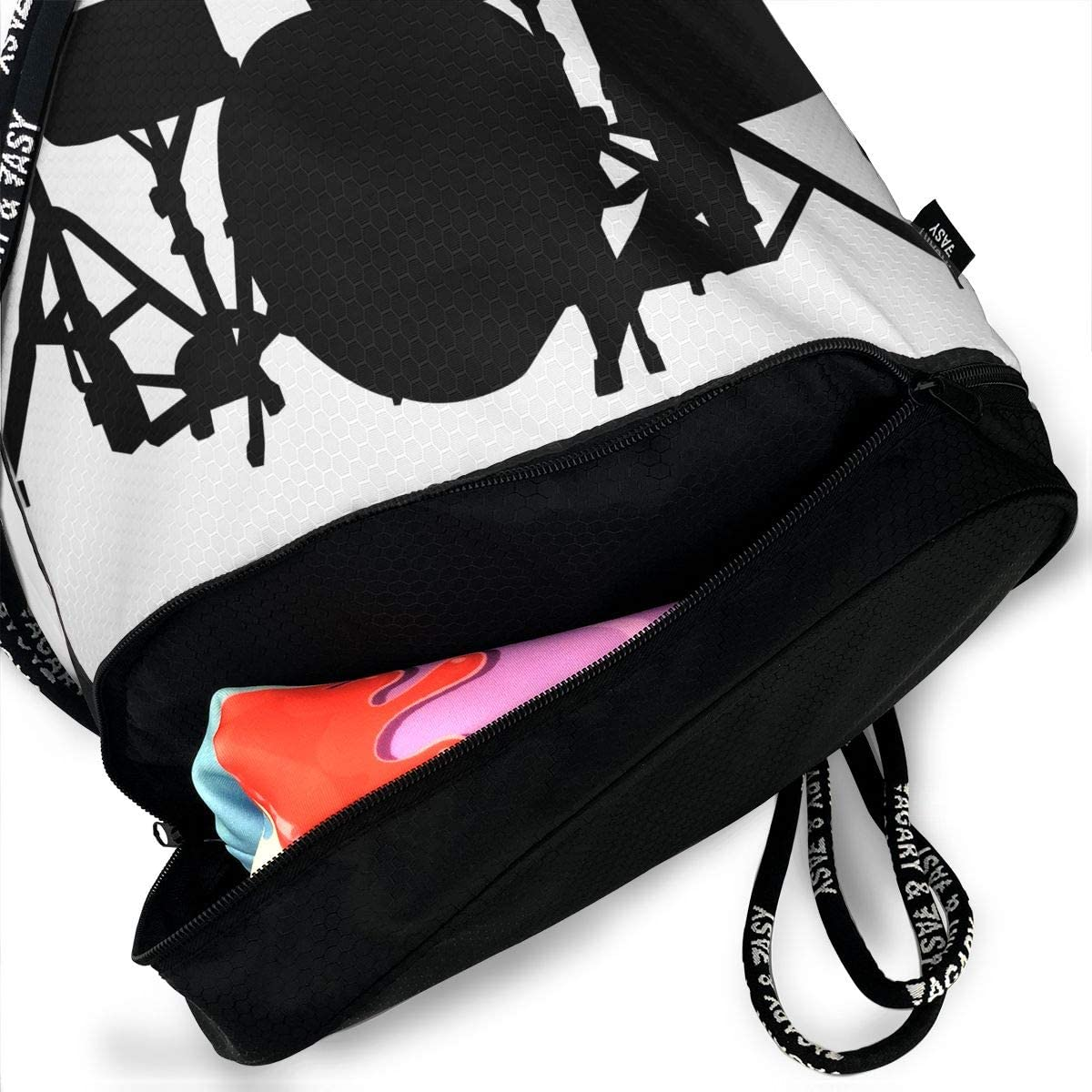 Drawstring Backpack Drum Set Shoulder Bags