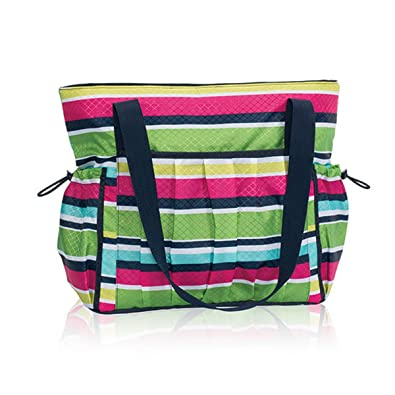 e096f5422302 Amazon.com  Thirty One New Day Tote in Preppy Pop - No Monogram - 8357   Shoes