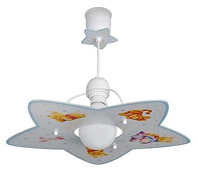 Kinderzimmer Leuchte | Dalber 10662 Hangeleuchte Winnie The Pooh Kinderzimmer Lampe Leuchte