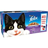 Purina Felix Mixed Selection in Jelly Wet Cat Food 40 x 100g Pouch Jumbo Pack