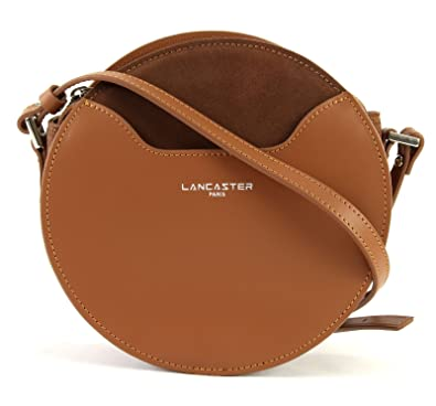 0ee0e3b121 Lancaster Vendôme Lune Circle Crossbody Bag Camel: Amazon.fr: Chaussures et  Sacs
