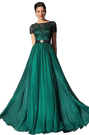 Dark green prom dress uk